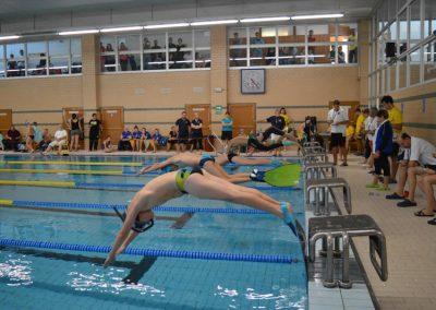 Závody v plavání s ploutvemi