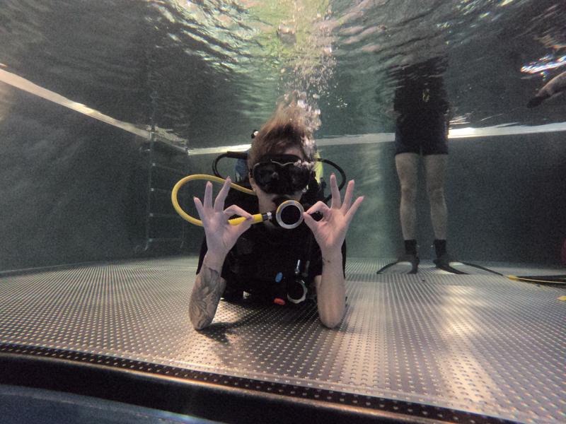 Potápění Liberec 1