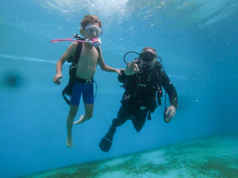 Potápění pro děti