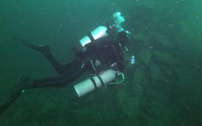 Potápění na Horce