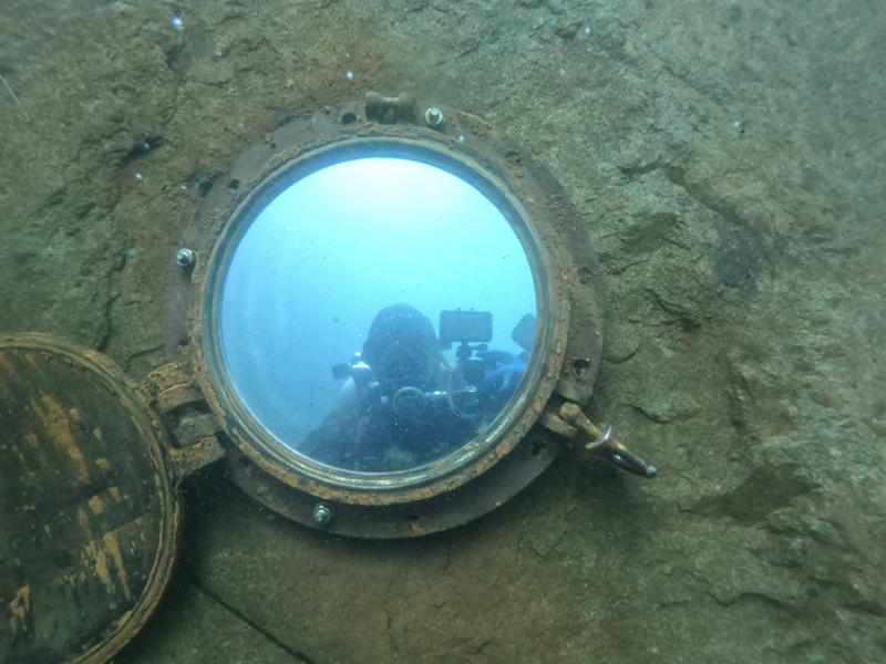 Potápění Horka